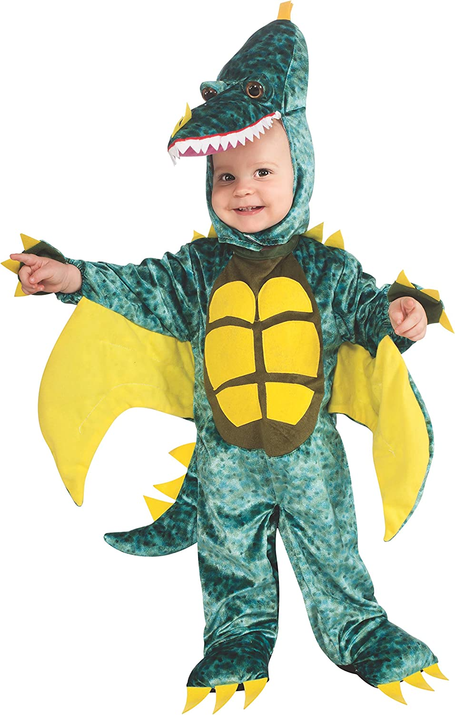 Rubies Costume Noah's Ark Pterodactyl Romper Costume, Green, 1218 Months