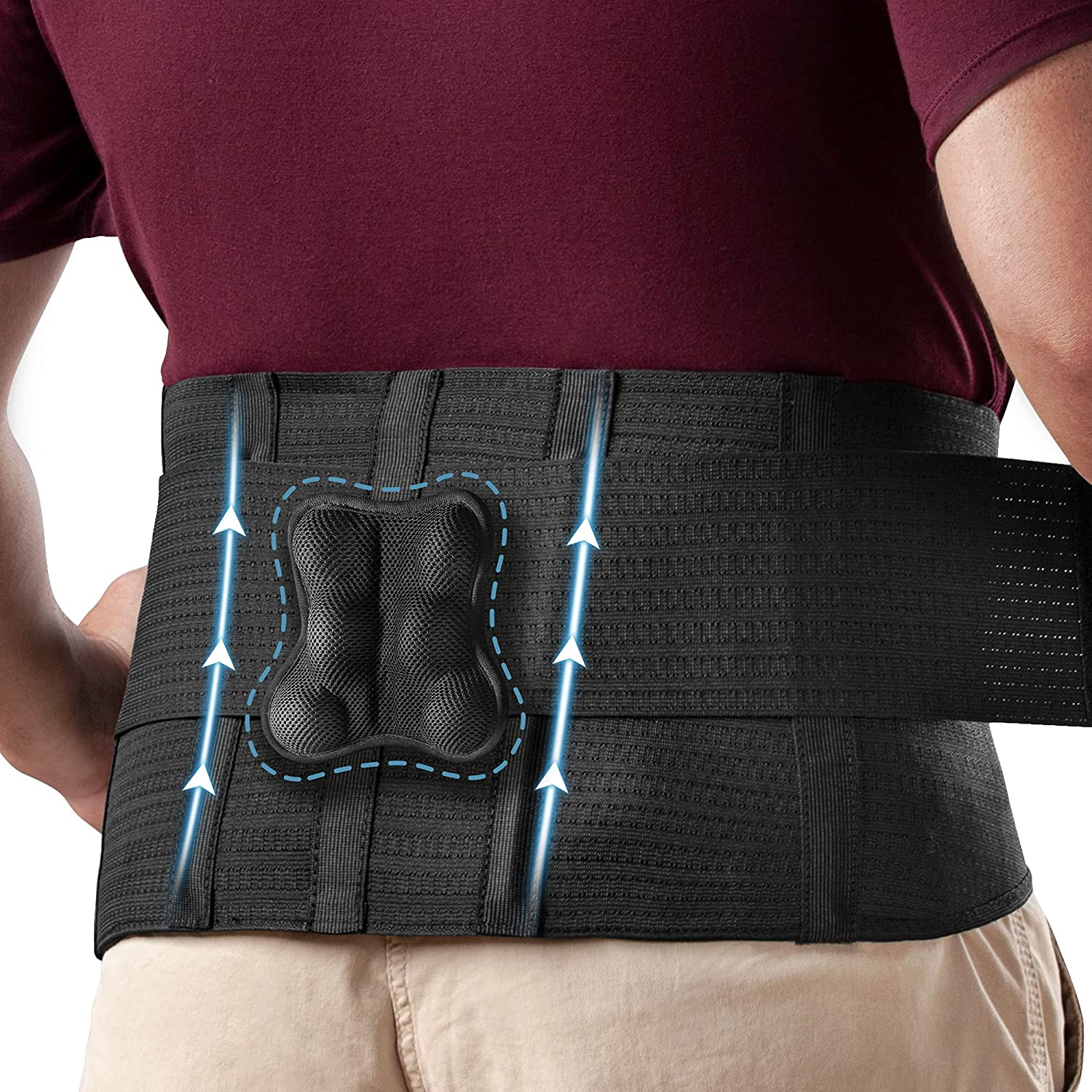 Omples Back Brace for Men and Women Lower Support Max 69% OFF P Sale SALE% OFF Waist Lumbar