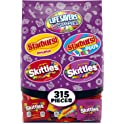 315-Count Skittles Starburst and Life Savers Gummies Halloween Candy Bag