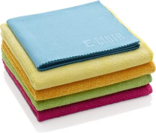 E-Cloth Starter Pack, Microfiber Cleaning Cloths, 5 Cloth Set, Assorted Colors