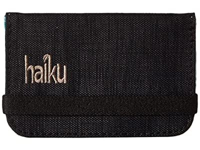 Haiku RFID Mini Wallet (Black Morel) Wallet Handbags