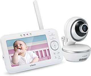 VTech VM5261 5? Digital Video Baby Monitor with Pan & Tilt Camera, Wide-Angle Lens and Standard.