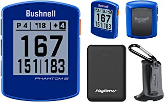 $139 » Bushnell Phantom 2 Handheld Golf GPS Power Bundle | Includes PlayBetter Portable Charger | 2021 Golf GPS Device | Built-in...