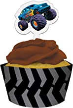 12-Count Cupcake Pick Decorations and Baking Cup Wrappers, Mudslinger