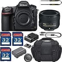 Nikon D850 DSLR Camera with AF-S NIKKOR 50mm f/1.8G Lens + 3 Memory Card Bundle