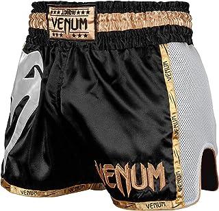 Short Thai Premium pour Pantalon thaibox pour Hommes Thaiboxes Traditionnel avec Tissu Air-Tech Dynamix Athletics Short Muay Thai Warpath Gris