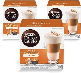 Nescafe Dolce Gusto Caramel Latte Macchiato Coffee Capsules (48 Capsules, 24 Cups)