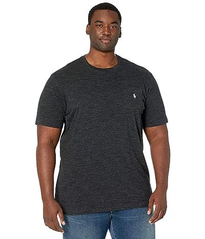 Polo Ralph Lauren Big & Tall Big Tall 26/1 Jersey Short Sleeve Classic Fit T-Shirt (Black Marl Heather 1) Men