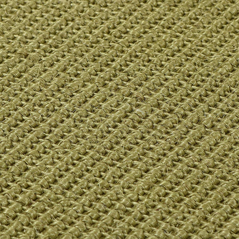 Havatex  Sisal Teppich Trumpf - hypoallergene Naturfaser  schadstoffgeprüft pflegeleicht schmutzabweisend robust strapazierfhig, Farbe Avocado, Gre 200 x 300 cm