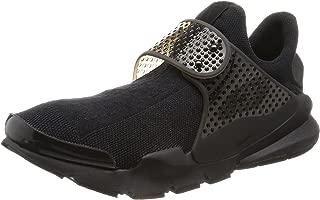 Men's Sock Dart Black/Black-Volt Ankle-High Running Shoe - 11M