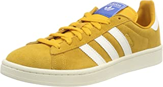 d7676afbb27e adidas Mens Campus Suede Yellow White Trainers 11.5 US