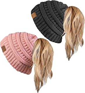 Best crochet slouchy hat with button Reviews