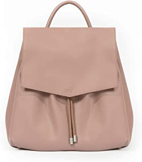 Freshly Picked - Convertible Drawcord Bag Backpack - Large Internal Storage 8 Pockets Wipeable Vegan Leather (Thistle)