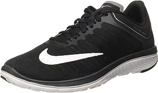 Men's Fs Lite Run 4 Black/White-Anthracite Ankle-High Running Shoe - 9M