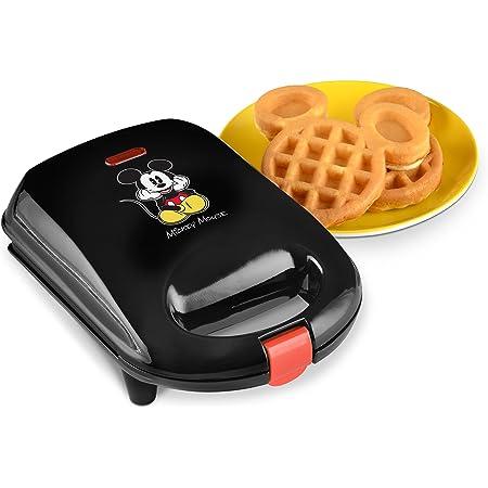 Disney DCM-9 Mickey Mini Waffle Maker, Black