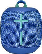Ultimate Ears Wonderbooms 2 Altavoz Inalámbrico, Graves Profundos, Sonido Envolvente de 360°, Impermeable, Conexión de 2 Altavoces para Sonido Potente, Batería de 13 h, color Azul