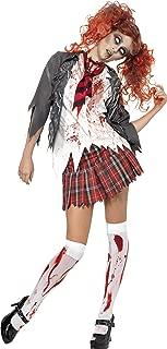 S Women's Highschool Horror School Girl Adult Costume