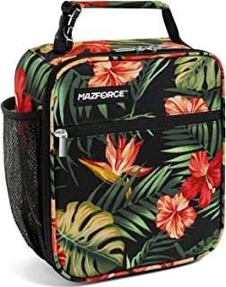 MAZFORCE Original Lunch Box Insulated Lunch Bag - Tough & Spacious Adult Lunchbox to Seize Your Day (Tropical - Lunch Bags...