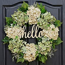 Amazon Com Hydrangea Wreath