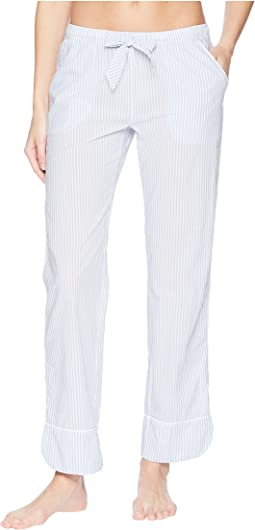 Denim Blues Striped Pants