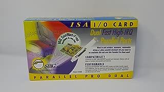 SIIG 2Par IEEE DB25 ISA Parallel Pro Dual Hi Irq Lpt 1-6