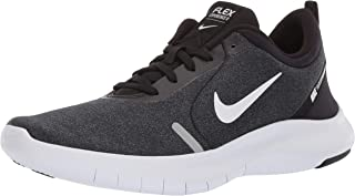 nike flex black and white
