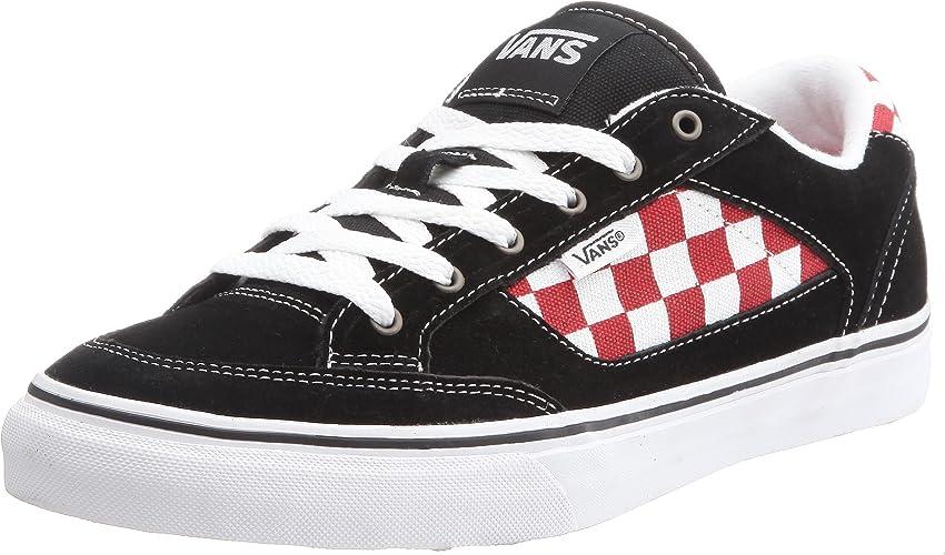 Vans Brasco, Baskets mode homme - Noir (damier rouge et blanc ...