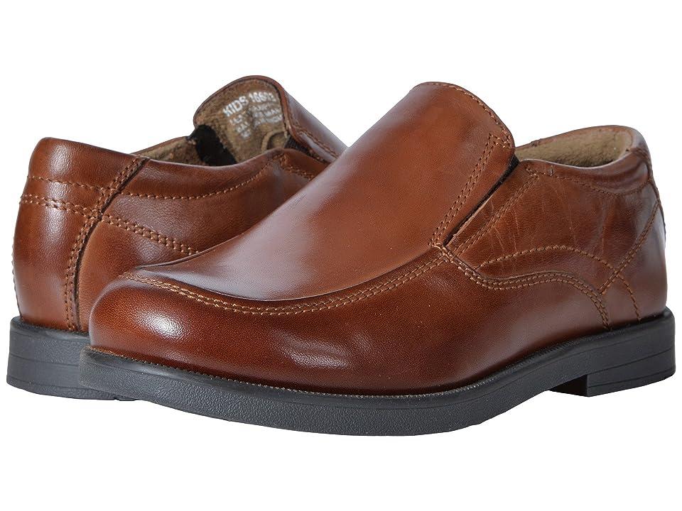 Florsheim Kids Midtown Moc Slip, Jr. (Toddler/Little Kid/Big Kid) (Cognac) Boys Shoes