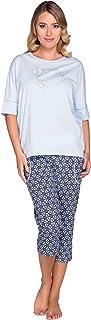 Italian Fashion IF Pyjama Ensemble Haut et Bas V/êtement dint/érieur Femme CL24 0230