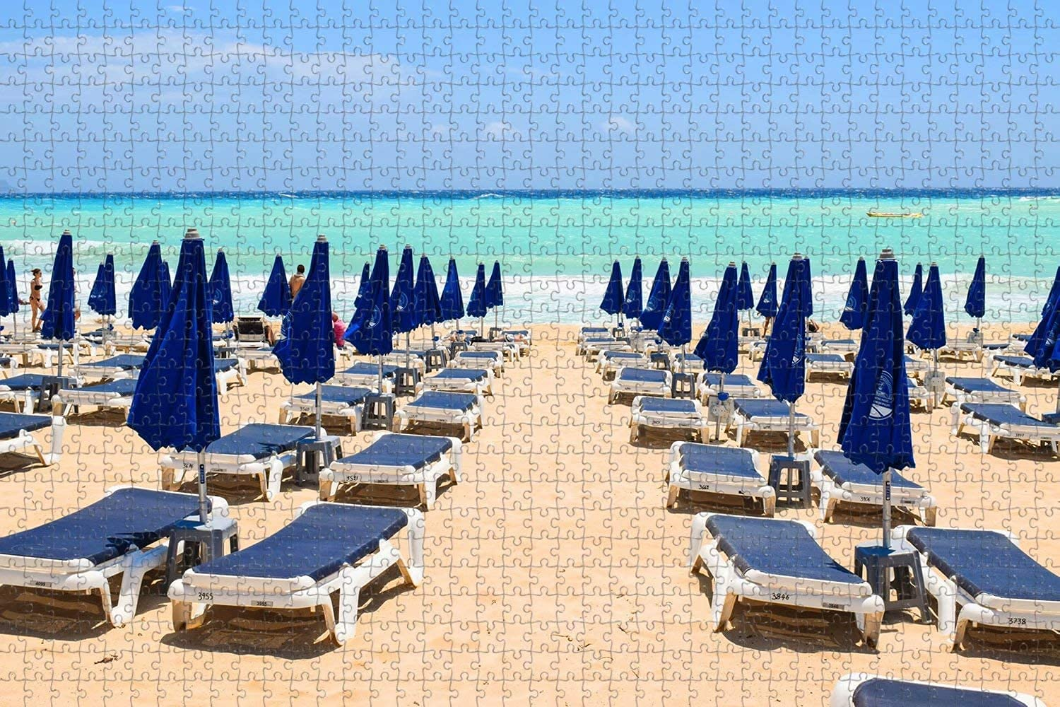 Cyprus Ayia Napa Makronissos Beach Game Max 85% OFF New product! New type 1000 Puzzle Jigsaw Piece