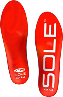 SOLE Active Medium Shoe Insoles with Metatarsal Pads - Men's Size 6/Women's Size 8