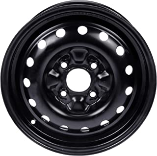 "Dorman Steel Wheel with Black Painted Finish (15x6""/4x4.5"")"