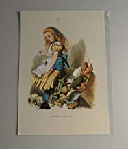 BiblioArt Series 【特価】ジョン・テニエル「不思議の国のアリス 陪審員席」A4版額絵