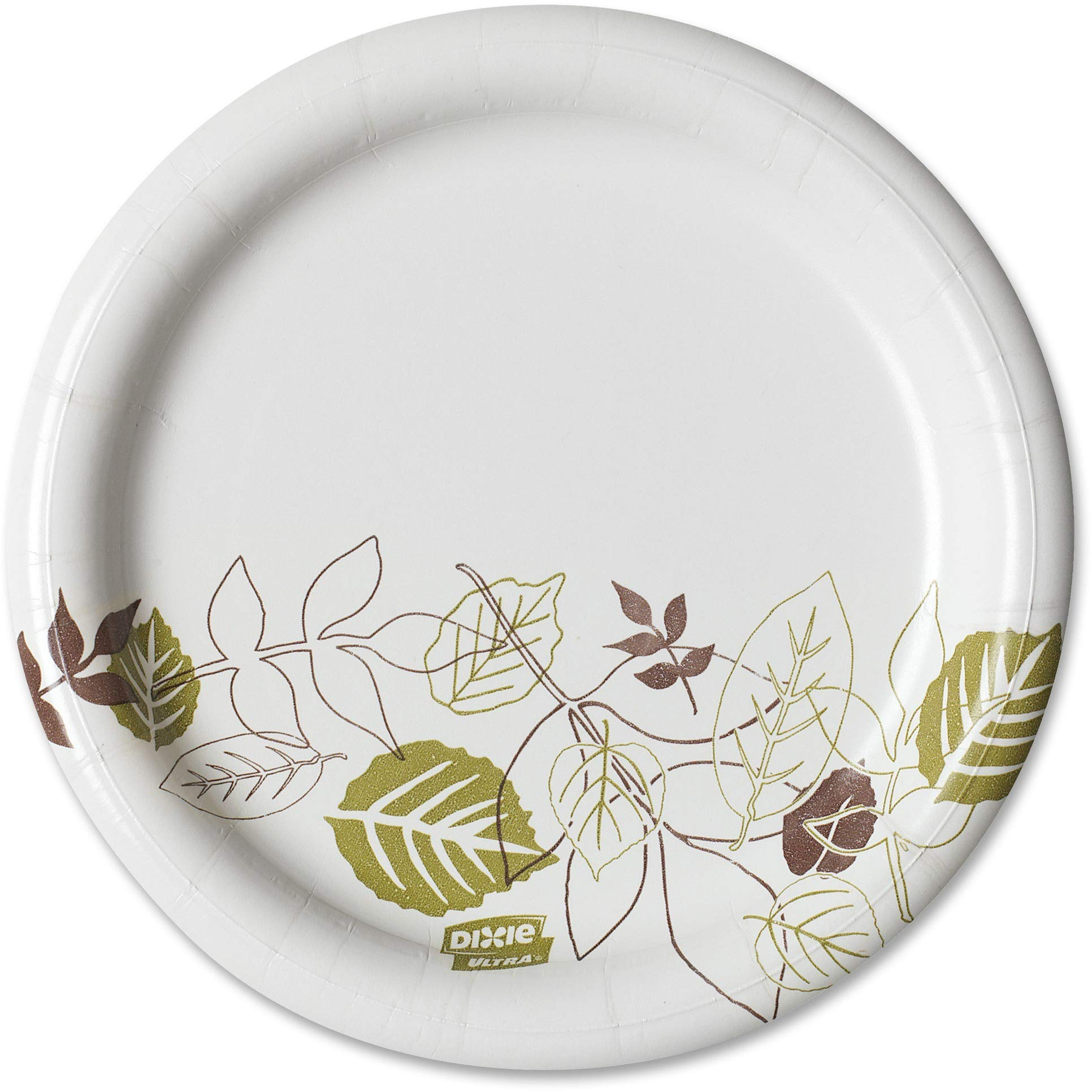 Pathways Dixie Ultra 10Heavy-Weight Paper Plates by GP PRO 500 Count SXP10PATH Georgia-Pacific 125 Plates Per Pack, 4 Packs Per Case - 2 Pack