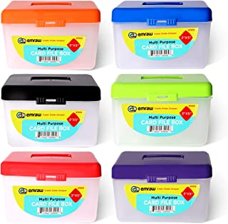 """3"""" X 5"""" Index Card Case Holds Upto 250 Cards Ideal for Filing Notes, Addresses & Recipes – (Pack of 96) - by Emraw"""