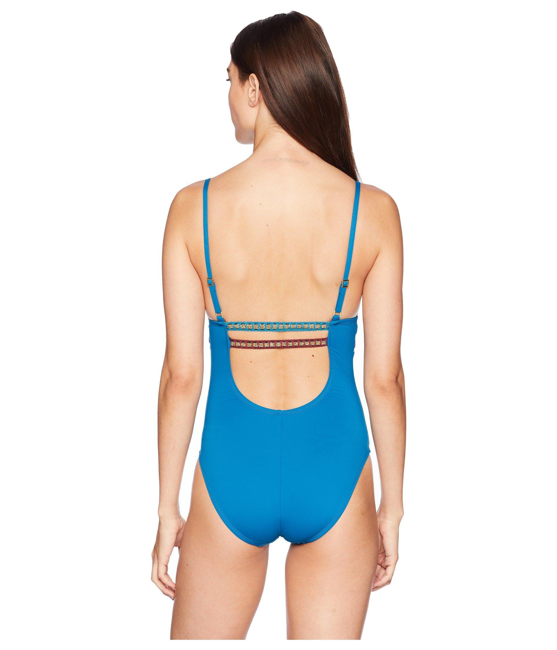 The Running Shoulder Blanca Mio piece Marina Over One Stitch Swimsuit La x1pn7x