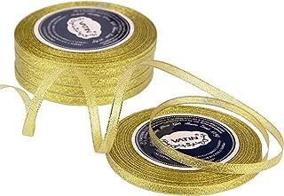 Best thin gold ribbon Reviews