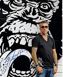Richard Rawlings, from Fast and Loud, (Gas Monkey Garage), 8 X 10 Photo Autograph on Glossy Photo Paper