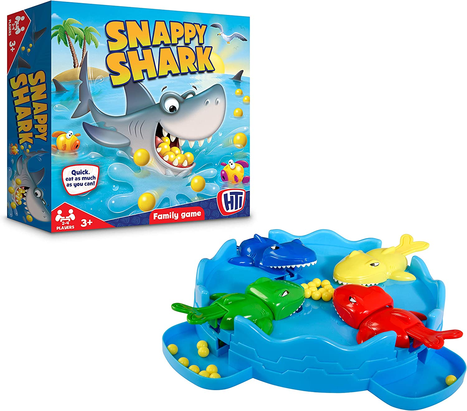 HTI Toys Traditional Games Hungry Snappy Ranking TOP20 Game Shark Board Family Direct sale of manufacturer