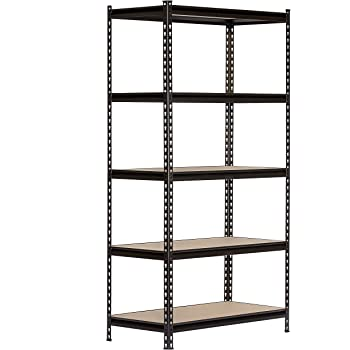 4 Compartment S 60 Height X 36 Width X 18 Depth Hirsh 3 200 Lb Capacity Iron Horse Shelving Utility Shelves Tools Home Improvement