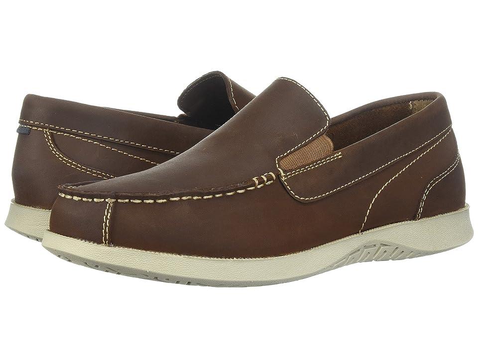 Nunn Bush Bayside Lites Venetian Moc Toe Slip-On (Brown) Men
