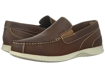 Nunn Bush Bayside Lites Venetian Moc Toe Slip-On (Brown) Men