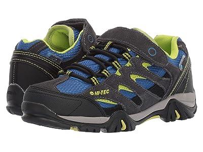 Hi-Tec Kids Ravus Low EZ (Toddler/Little Kid/Big Kid) (Charcoal/Cobalt/Limonchello) Boys Shoes