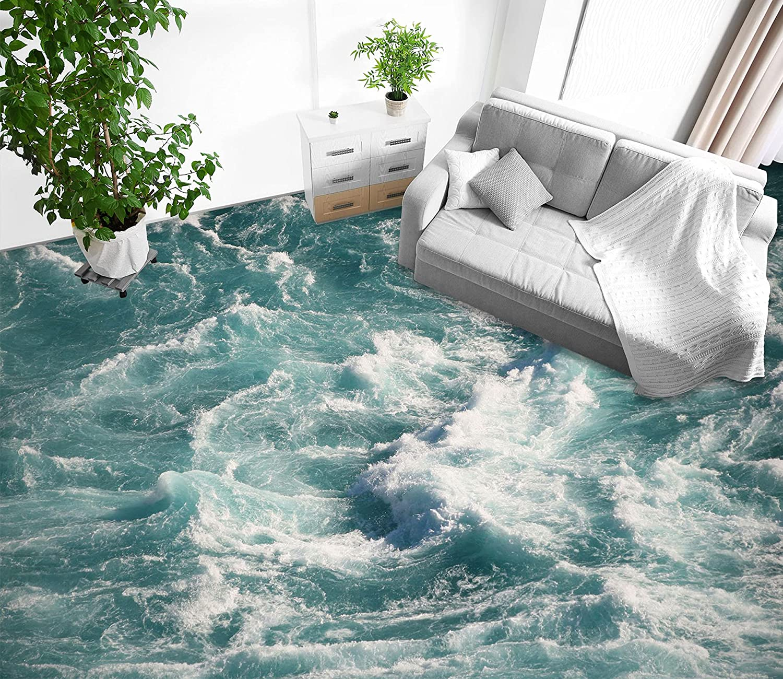 3D Spray latest 8067 Floor Wallpaper Murals Wall AJ Under blast sales WALLPAP Decal Print