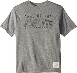 Case Of The Mondays Short Sleeve Tri-Blend Tee (Big Kids)