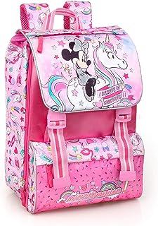 Disney Minnie Unicorno 36212 Zaino da Scuola, Estensibile, Poliestere, Multicolore