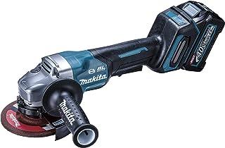 マキタ(Makita) 40Vmax 125mm充電式ディスクグラインダ 2.5Ah バッテリ2本・充電器・ケース付 GA010GRDX