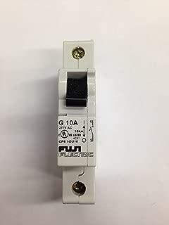 Fuji Electric, CP61GU10, Circuit Breaker, 10A, 1 Pole, G Curve