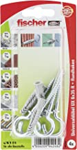Fischer Universele plug UX RH K SB-kaart, 4 stuks, 6 x 35 mm, 94248