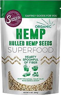 Sponsored Ad - Suncore Foods - Organic Hemp Seeds, 8oz bag, Gluten Free and Non-GMO, Vegan, Superfood